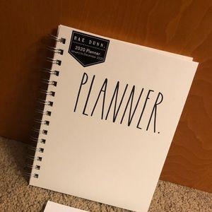 Rae Dunn Planner 2020